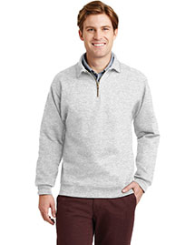Jerzees 4528m Men Super Sweats 1/4 Zip Sweatshirt With Cadet Collar