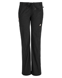 Code Happy 46000ABP Women Low Rise Straight Leg Drawstring Pant