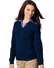 Edwards 465 Women's V-Neck Sweater With Tuff-Pil Plus at bigntallapparel