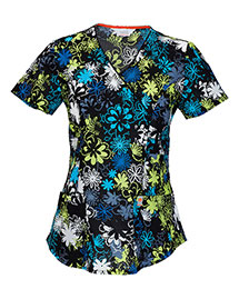 Code Happy 46612a Women Vneck Top