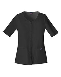 Cherokee Workwear 4730 Women Button Front Top
