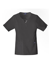 Cherokee Workwear 4740 Women Round Neck Top
