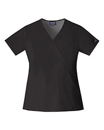 Cherokee Workwear 4741 Women Mock Wrap Top