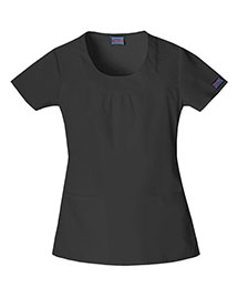 Cherokee Workwear 4761 Women Round Neck Top