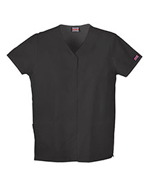Cherokee Workwear 4770 Women Snap Front V-Neck Top