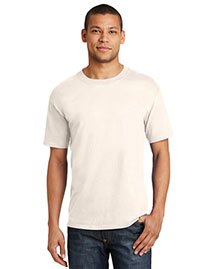 Hanes 5180 Men Beefy Born To Be Worn Cotton T Shirt
