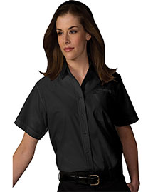 Edwards 5313 Women Short Sleeve Value Broadcloth Shirt at bigntallapparel