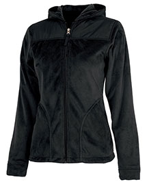 Charles River Apparel 5333  Serenity Silken Fleece Hoodie at bigntallapparel