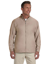 Ashworth 5378 Men Full-Zip Lined Wind Jacket