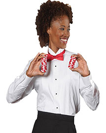 Edwards 5390 Women Tuxedo Shirt at bigntallapparel