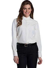 Edwards 5392 Women Batiste Banded Collar Shirt at bigntallapparel