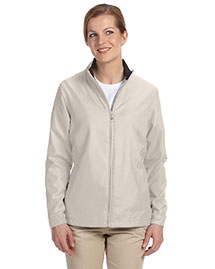 Ashworth 5401C Ladies' Full-Zip Lined Wind Jacket at bigntallapparel