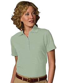 Edwards 5500 Women Soft Touch Blended Pique Polo at bigntallapparel
