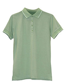 Edwards 5510 Women WoTipped Collar/Cuff Blended Pique Polo