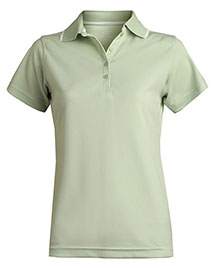 Edwards 5575 Women's Tipped Collar Dry-Mesh Hi-Proformance Polo at bigntallapparel