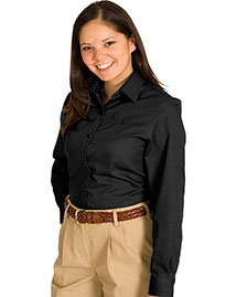 Edwards 5750 Women Cottonplus Long Sleeve Twill Shirt