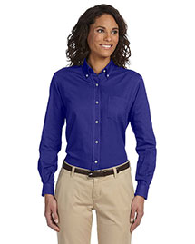 Van Heusen 58800 Women Classic Longsleeve Oxford at bigntallapparel