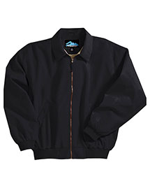 Tri-Mountain 6000 Men Microfiber Jacket With Poplin Lining