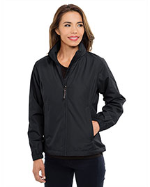 Tri-Mountain 6013 Women 100% Polyester Long Sleeve Jacket With Water Resistent