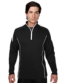 Tri-Mountain 605 Men 100% Polyester Mesh Textured 1/4 Zipper Pullover