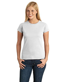 Gildan 64000L Women Softstyle Junior Fit Tshirt at bigntallapparel