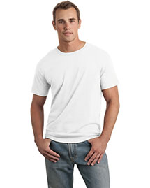 Gildan 64000 Men Soft-Style Ring Spun Cotton T Shirt