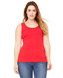 Bella 6480 Women Missy Baby Rib Tank at bigntallapparel