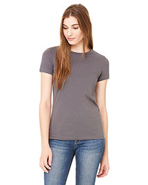 Bella 6650 Women Poly-Cotton Short-Sleeve T-Shirt