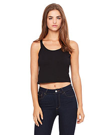Bella 6680 Women Poly-Cotton Crop Tank