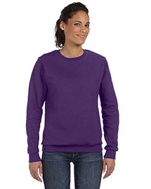 Anvil 71000L Women Ringspun Crewneck Sweatshirt