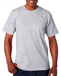 Bayside 7100 Men Usa Made Pocket T