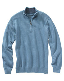 Edwards 712 Women  Quarter Zip Sweater at bigntallapparel