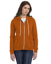 Anvil 71600L Ladies' Ringspun Full-Zip Hooded Sweatshirt at bigntallapparel