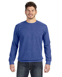Anvil 72000 Men Ringspun French Terry Crewneck Sweatshirt