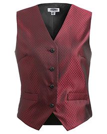 Edwards 7390 Women Diamond Brocade Vest