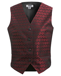 Edwards 7391 Women Swirl Brocade Vest at bigntallapparel
