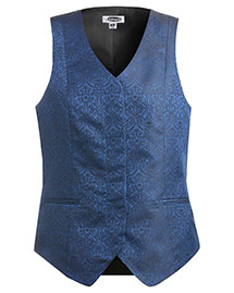 Edwards 7491 Women Fly Front Paisley Vest