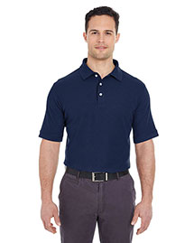 Ultraclub 7510 Men Platinum Honeycomb Pique Polo