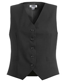 Edwards 7680 Women High Button Vest at bigntallapparel