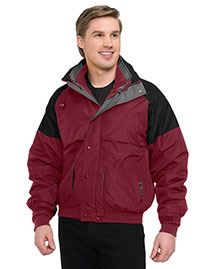 Tri-Mountain 7800 Men Big And Tall Nylon 3-In-1 Jacket at bigntallapparel