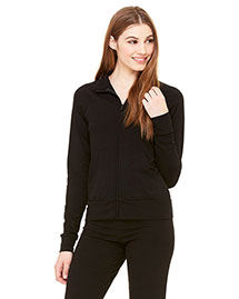 Bella 807 Ladies' Cotton/Spandex Cadet Jacket at bigntallapparel