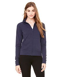 Bella 807 Women Cotton/Spandex Cadet Jacket