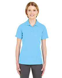 UltraClub 8210L Ladies' Cool & Dry Mesh Piqué Polo at bigntallapparel