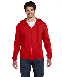 Fruit Of The Loom 82230 Men  12 Oz. Supercotton 70/30 Full-Zip Hood