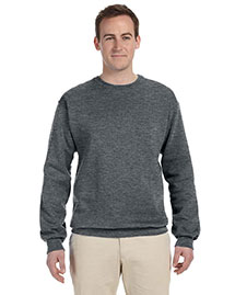 Fruit Of The Loom 82300 Men  12 Oz. Supercotton 70/30 Fleece Crew at bigntallapparel