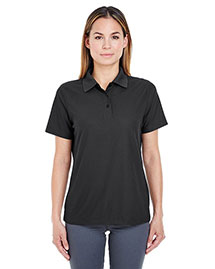 UltraClub 8240L Women WoCool & Dry Pebbleknit Polo