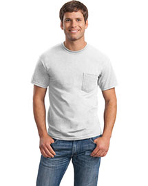 Gildan 8300 Men Ultra Blend 50/50 Cotton/Poly Pocket T Shirt at bigntallapparel