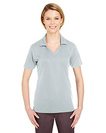 Ultraclub 8320L Women Platinum Performance Jacquard Polo With Tempcontrol Technology at bigntallapparel