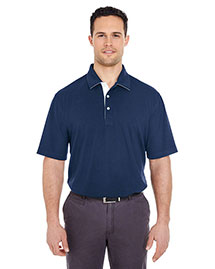 Ultraclub 8325 Men Platinum Performance Birdseye Polo With Tempcontrol Technology at bigntallapparel