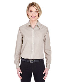 Ultraclub 8341 Women Wrinklefree Endonend Shirt